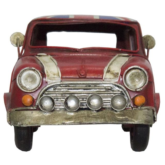 Carro Inglaterra Mini Coop Vermelho - Oldway