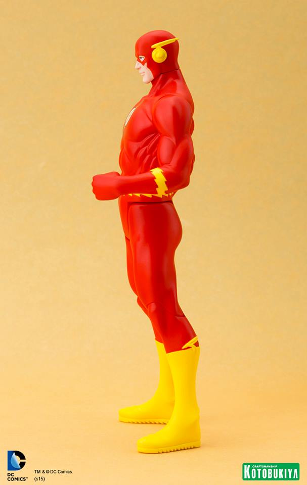 Estátua Flash Clássico: Super Powers ArtFX+Statue Escala 1/10 - Kotobukiya - CD