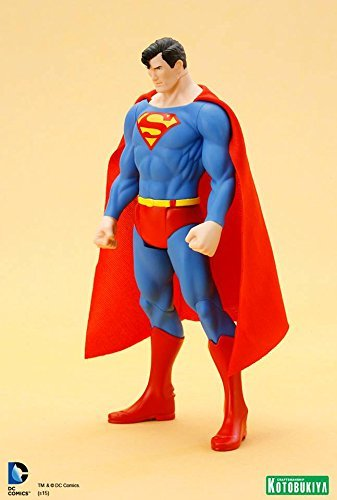 Estátua Superman Clássico: Super Powers ArtFX+Statue Escala 1/10 - Kotobukiya - CD