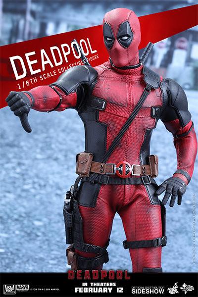Deadpool Escala 1/6 - Hot Toys