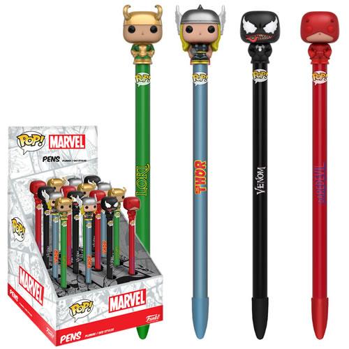 EM BREVE: Pop Caneta (Pen Toppers) Loki: Marvel Series 2 - Funko