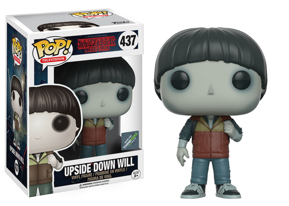 Pop Upside Down Will: Stranger Things #437 - Funko (EXCLUSIVO)