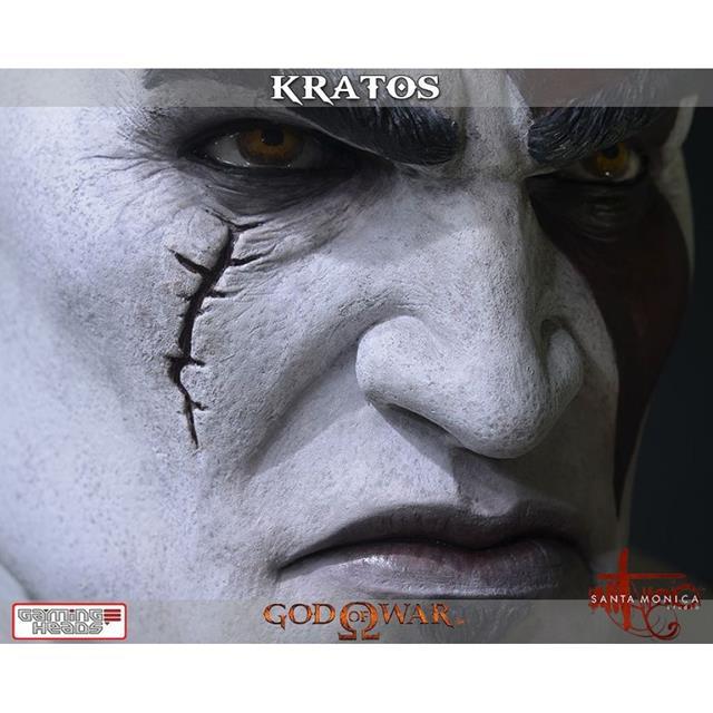 God of War Busto Kratos - Gaming Heads