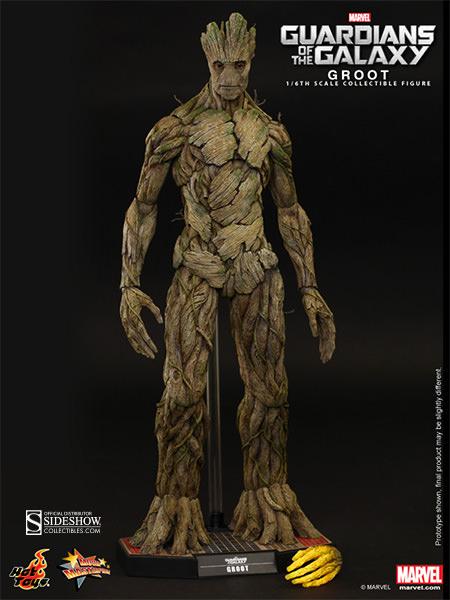 Boneco Groot: Guardiões da Galáxia Escala 1/6 - Hot  Toys