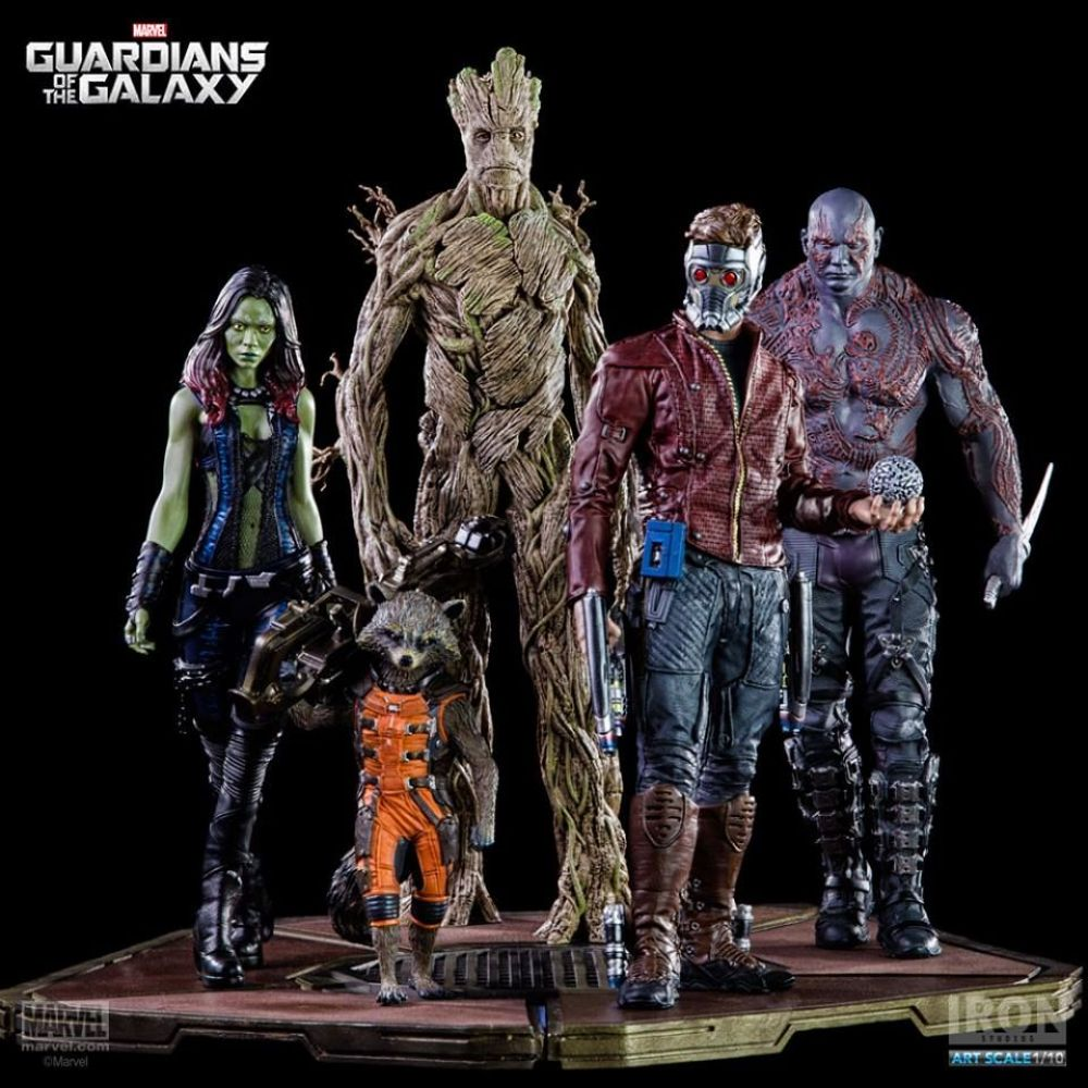 Guardiões da Galáxia: Groot Art Scale 1/10 - Iron Studios