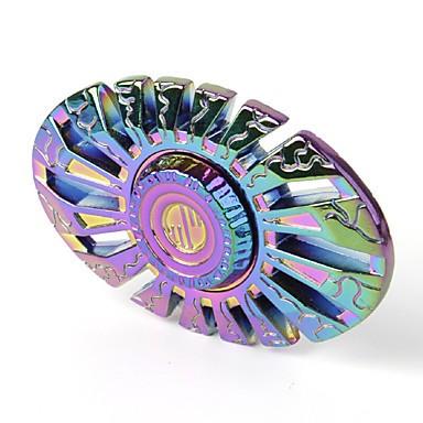 Hand Spinner Personalizado de Metal Colorido - Rolamento Anti Estresse Fidget Hand Spinner