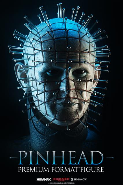 Estátua Pinhead: Hellraiser Premium Format Escala 1/4 - Sideshow - CD