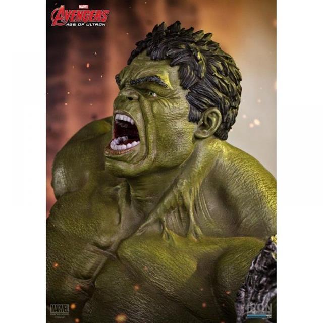 Hulk Avengers Age of Ultron Diorama Escala 1/6 - Iron Studios