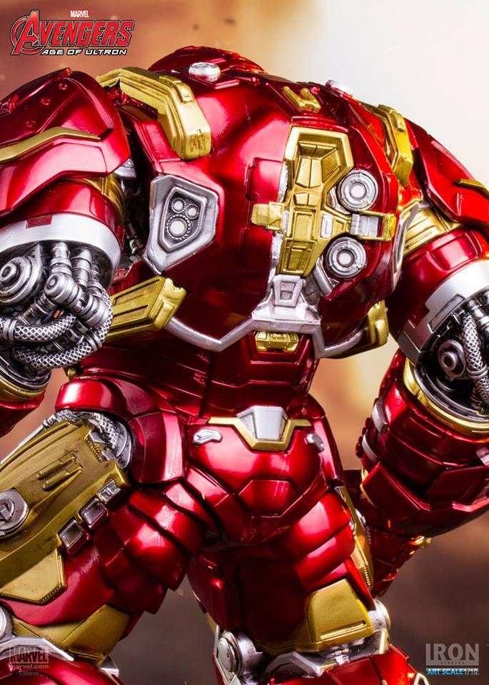 Hulkbuster Age Of Ultron Art Scale 1/10 - Iron Studios
