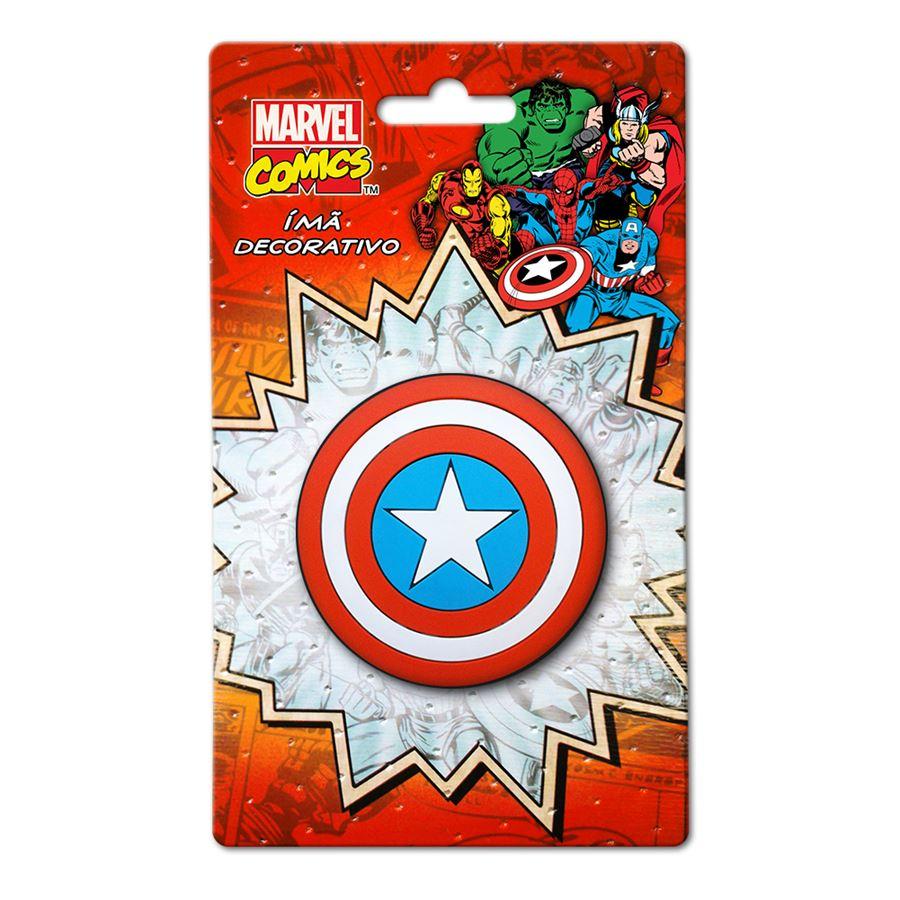 Imã Marvel Escudo Capitão América