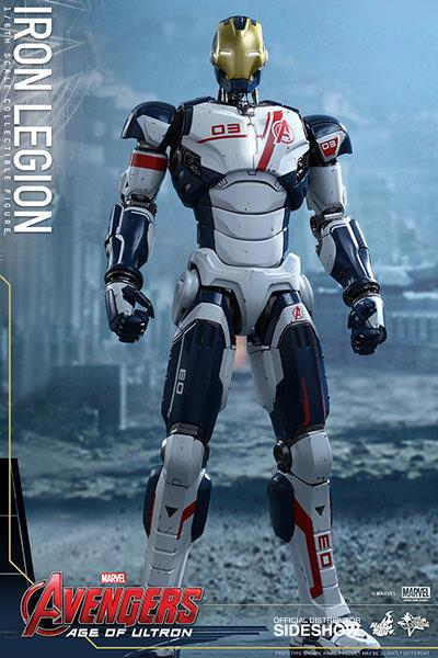 Boneco Iron Legion: Vingadores: Era de Ultron Escala 1/6 - Hot Toys - CD