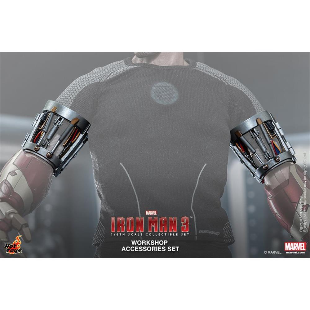 Iron Man 3 Workshop Accessories Set - Hot Toys