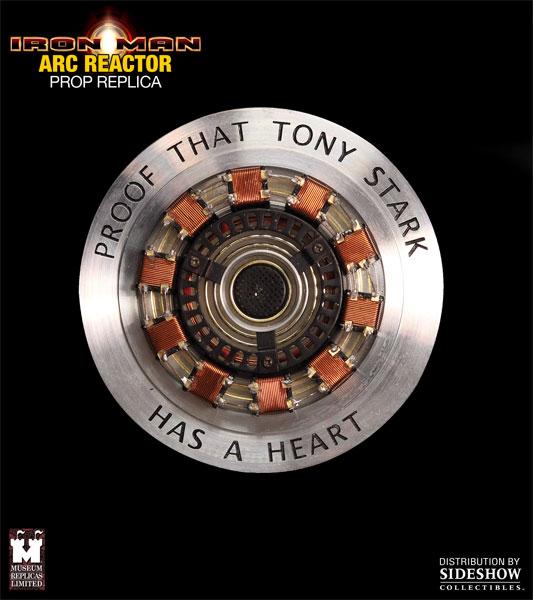 Iron Man: Arc Reactor Prop Replica - Sideshow  (Produto Exposto)