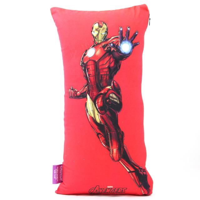 Kit Almofada e Máscara Homem de Ferro (Iron Man)