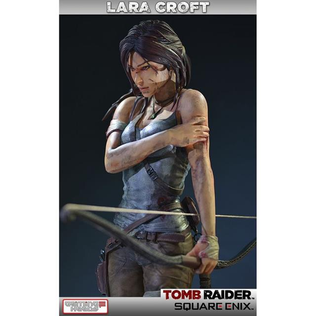Lara Croft Survivor Statue Tomb Raider - Gaming Heads