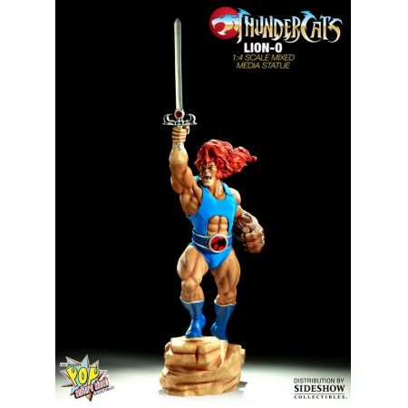 Lion-O Thundercats Estátua Mixed Media Statue - Pop Culture Shock