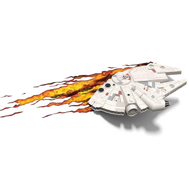 Luminária Star Wars Millenium Falcon - 3D ligtht FX