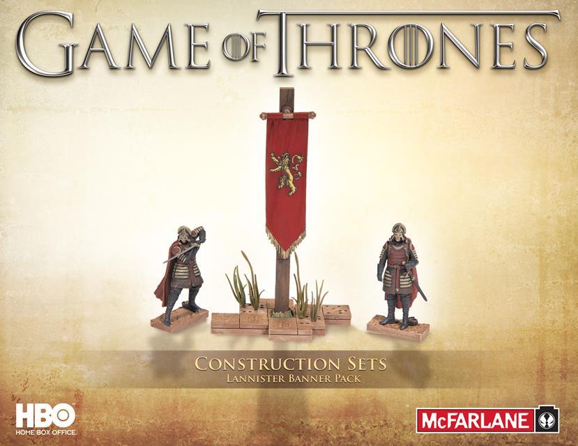 McFarlane Building Sets Game Of Thrones House Lannister - McFarlane