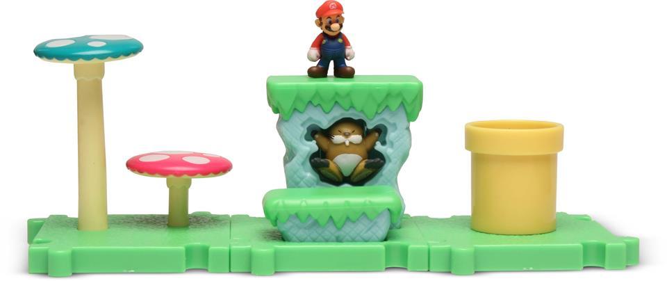 Micro Land Super Mário Ilha e Personagens: Mario - DTC
