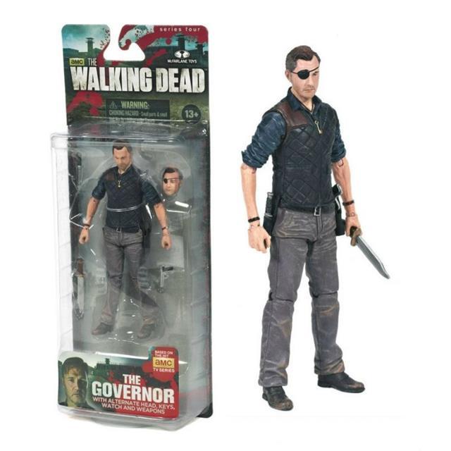 Boneco The Governor: The Walking Dead Serie 4 - McFarlane