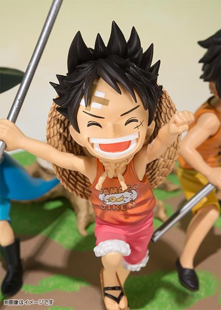 One Piece: Luffy, Ace e Sabo Brother Promise FiguartsZero - Bandai