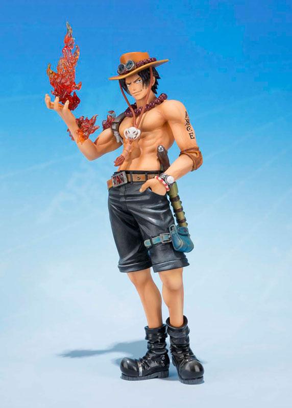 Estátua Portgas D. Ace: One Piece (5th Anniversary Edition) FiguartsZero - Bandai - CD