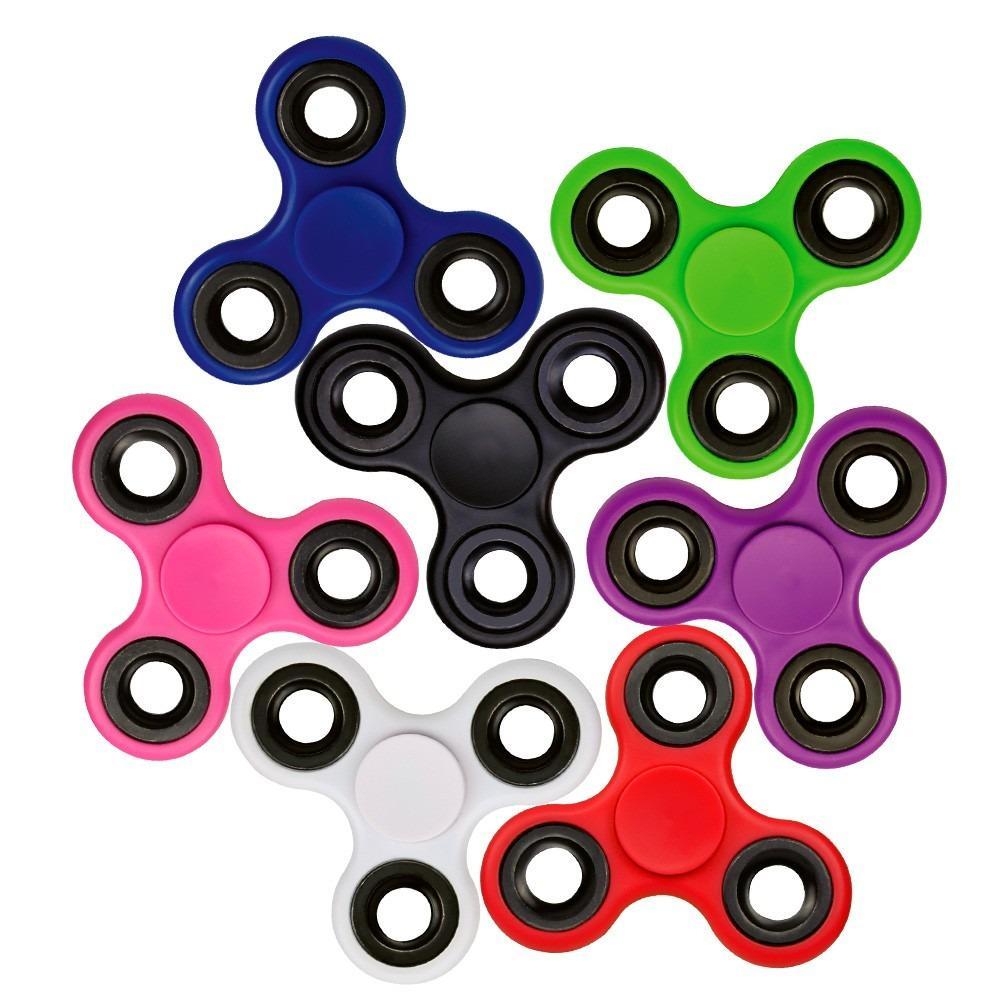 Pack de 10 Hand Spinner Sortidos - Rolamento Anti Estresse Fidget Hand Spinner