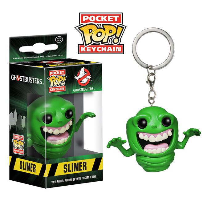 Pocket Pop! Keychains: Ghostbusters: Slimer - Funko
