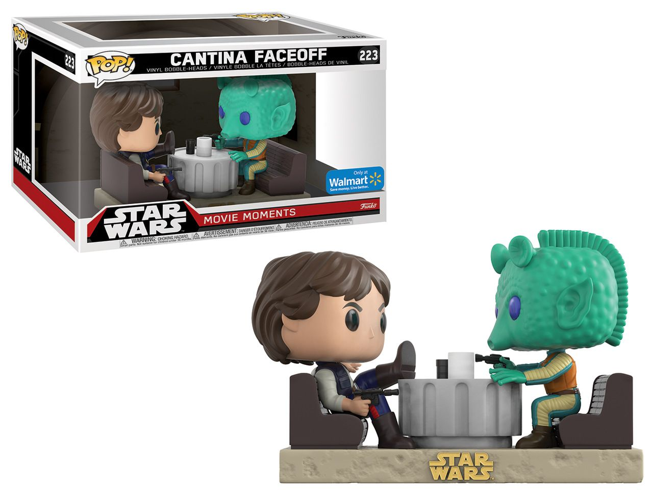Pop! Cantina Faceoff: Star Wars (Movie Moments) Exclusivo #223 - Funko