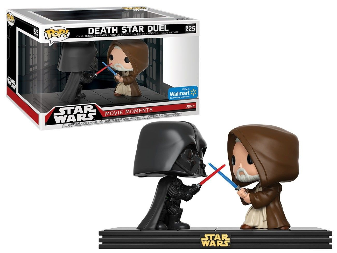 Pop! Death Star Duel: Star Wars (Movie Moments) Exclusivo #225 - Funko