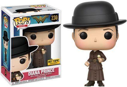 Pop! Diana Prince: Mulher Maravilha (Wonder Woman) #230 (Exclusivo) - Funko