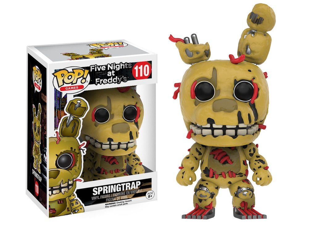 Pop! Five Nights at Freddy's: Springtrap (FNAF) #110 - Funko (EXCLUSIVO)