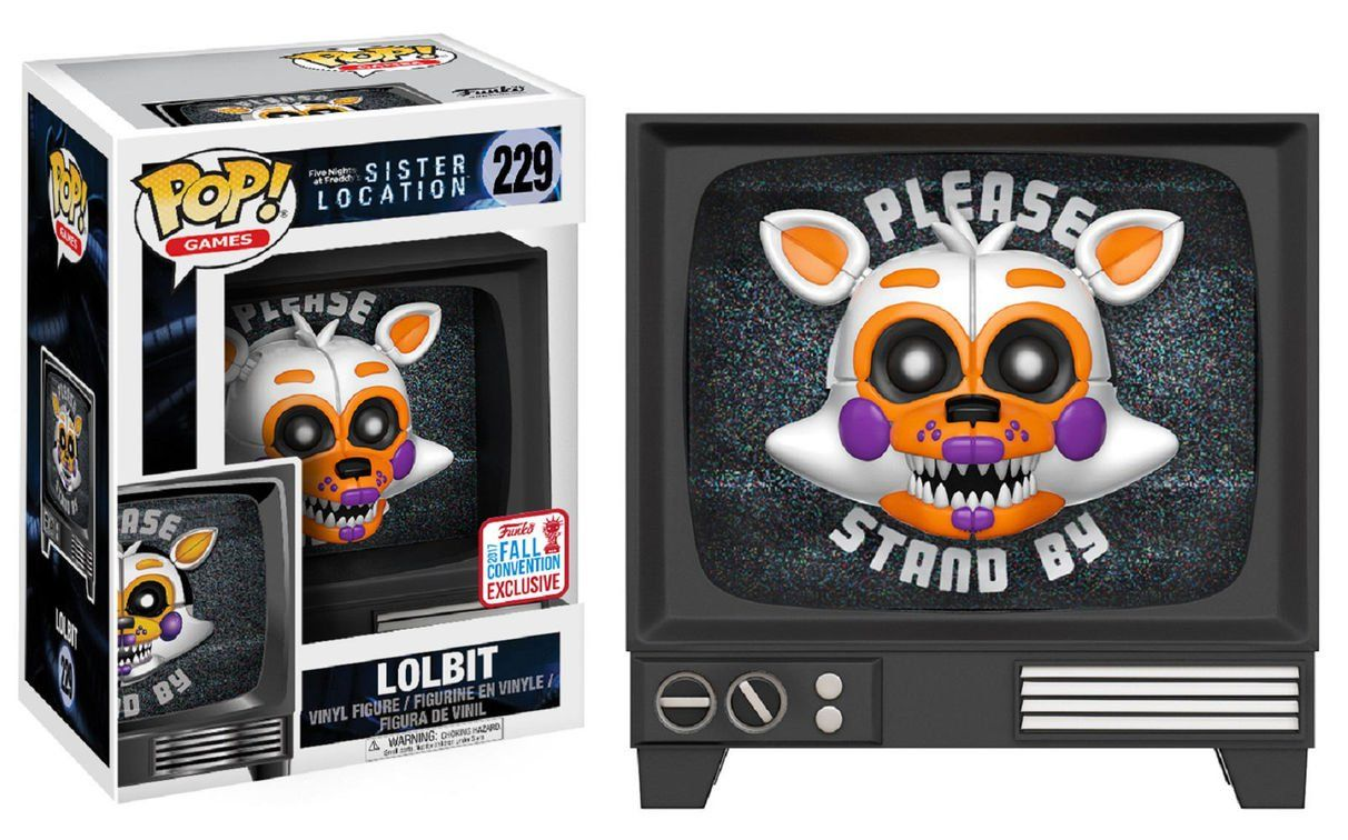 POP! Lolbit: Five Nights at Freddy's - Sister Location #229 (Exclusivo) - Funko