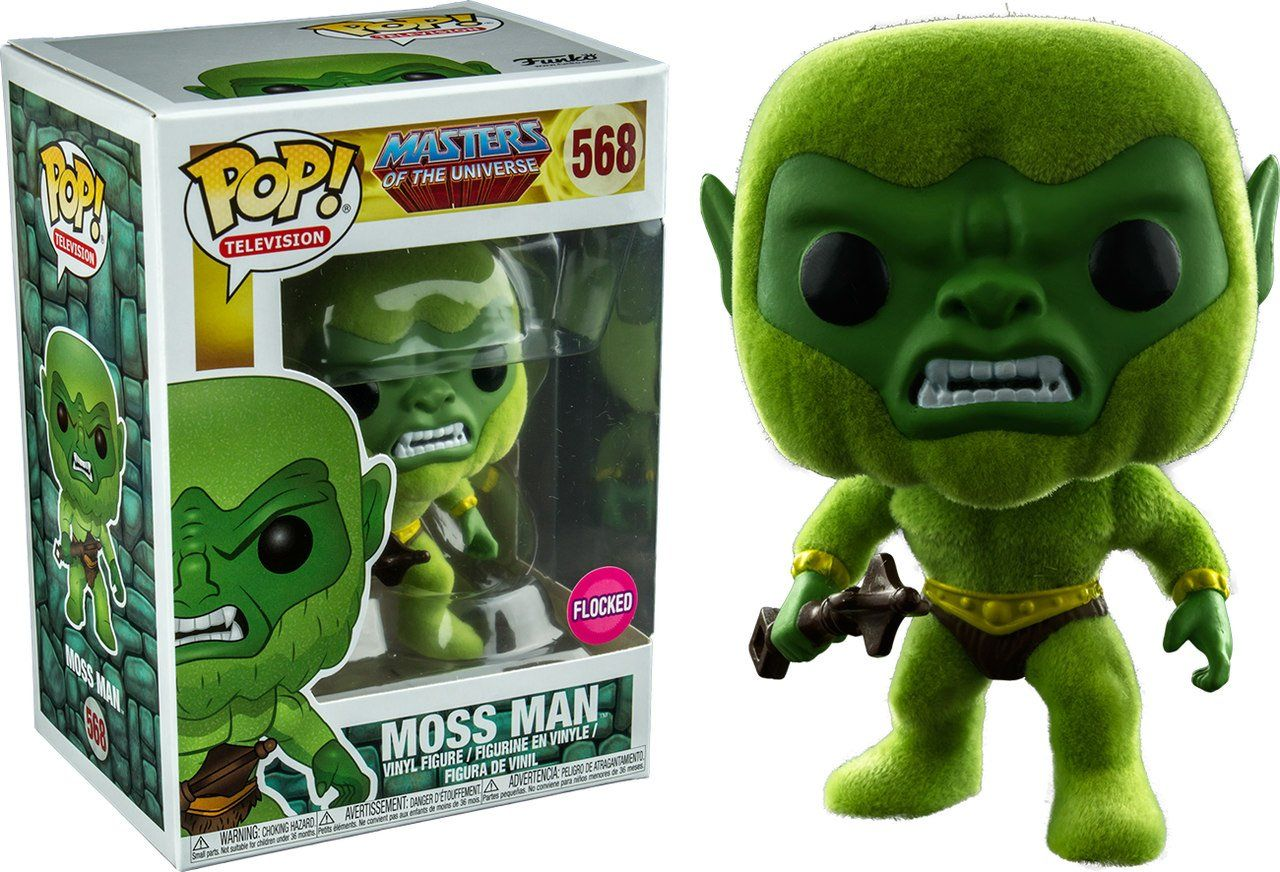 Pop! Moss Man: Masters Of The Universe (Flocked) (Exclusivo) #568 - Funko