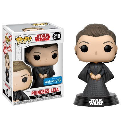 Pop Princesa Leia (Exclusivo): Star Wars #218 - Funko (Apenas Venda Online)