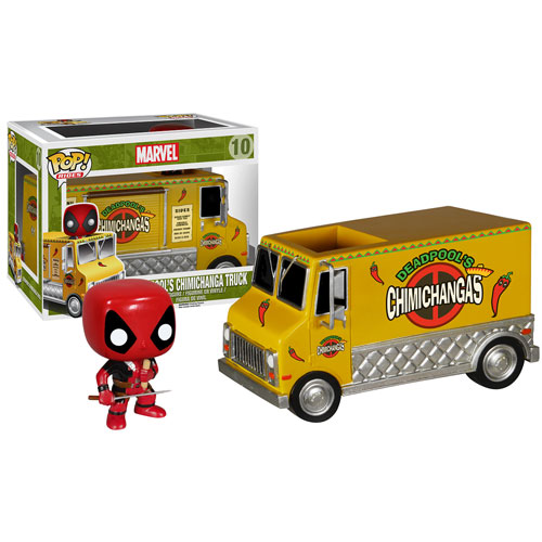 Deadpool's Chimichanga Truck: Marvel #10 - Pop Funko