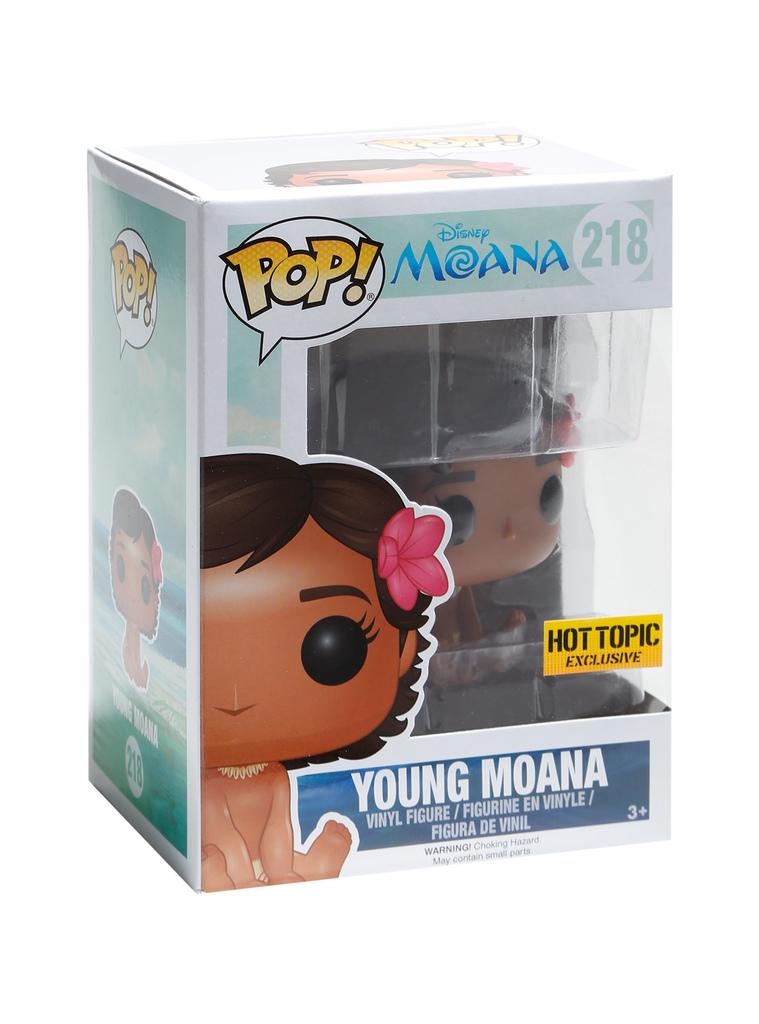 POP! Disney: Young Moana #218 - Funko (EXCLUSIVO)