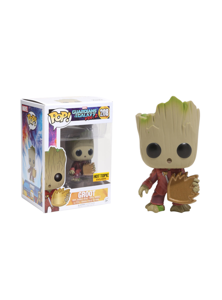 POP! Marvel: Guardiões da Galáxia Volume 2: Groot #208 - Funko (EXCLUSIVO)