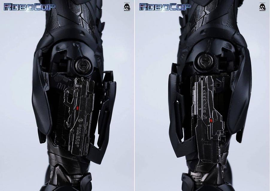 Boneco Robocop Remake 3.0 Escala 1/6 - ThreeA - CD
