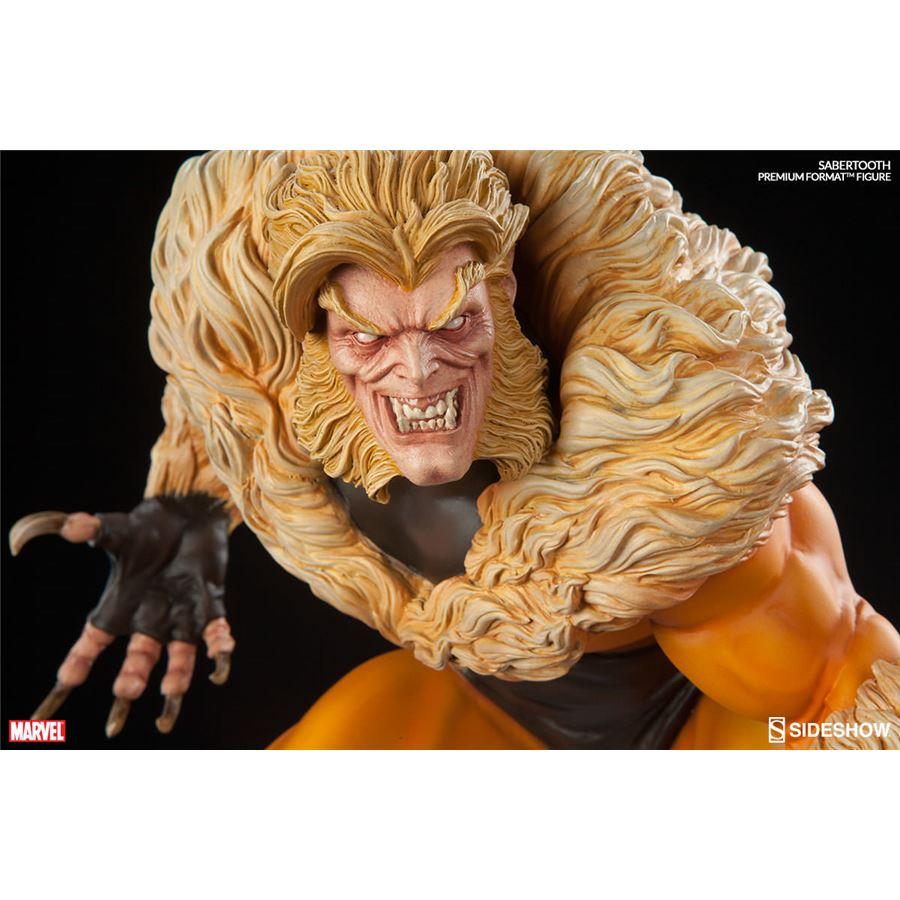 Estátua Sabretooth (Dentes de Sabre) Premium Format Escala 1/4 - Sideshow - CD