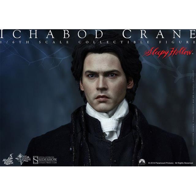Boneco Ichabod Crane: A Lenda do Cavaleiro Sem Cabeça (Sleepy Hollow) Escala 1/6 - Hot Toys - CD