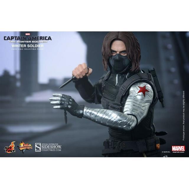 Captain America: The Winter Soldier: Soldado Invernal Escala 1/6 - Hot Toys