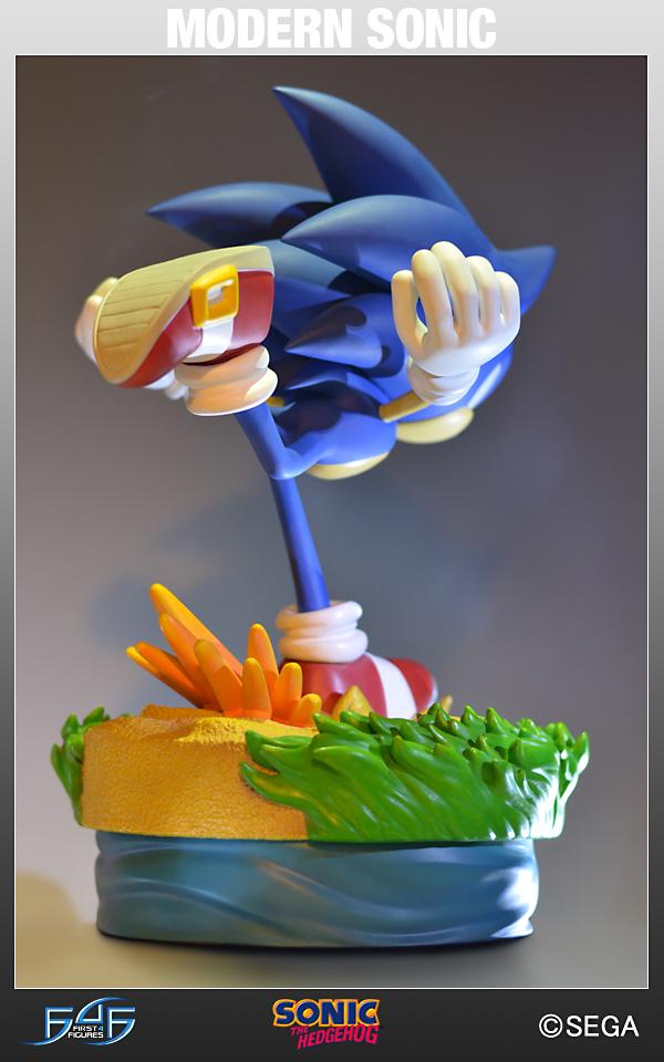 Sonic The Hedgehog: Modern Sonic  Estátua - First4Figures