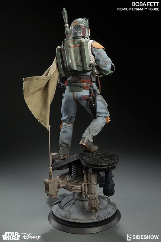 Star Wars Boba Fett Premium Format - Sideshow