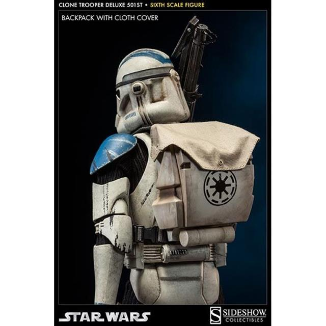 Star Wars Clone Trooper Deluxe 501st 1:6 - Sideshow