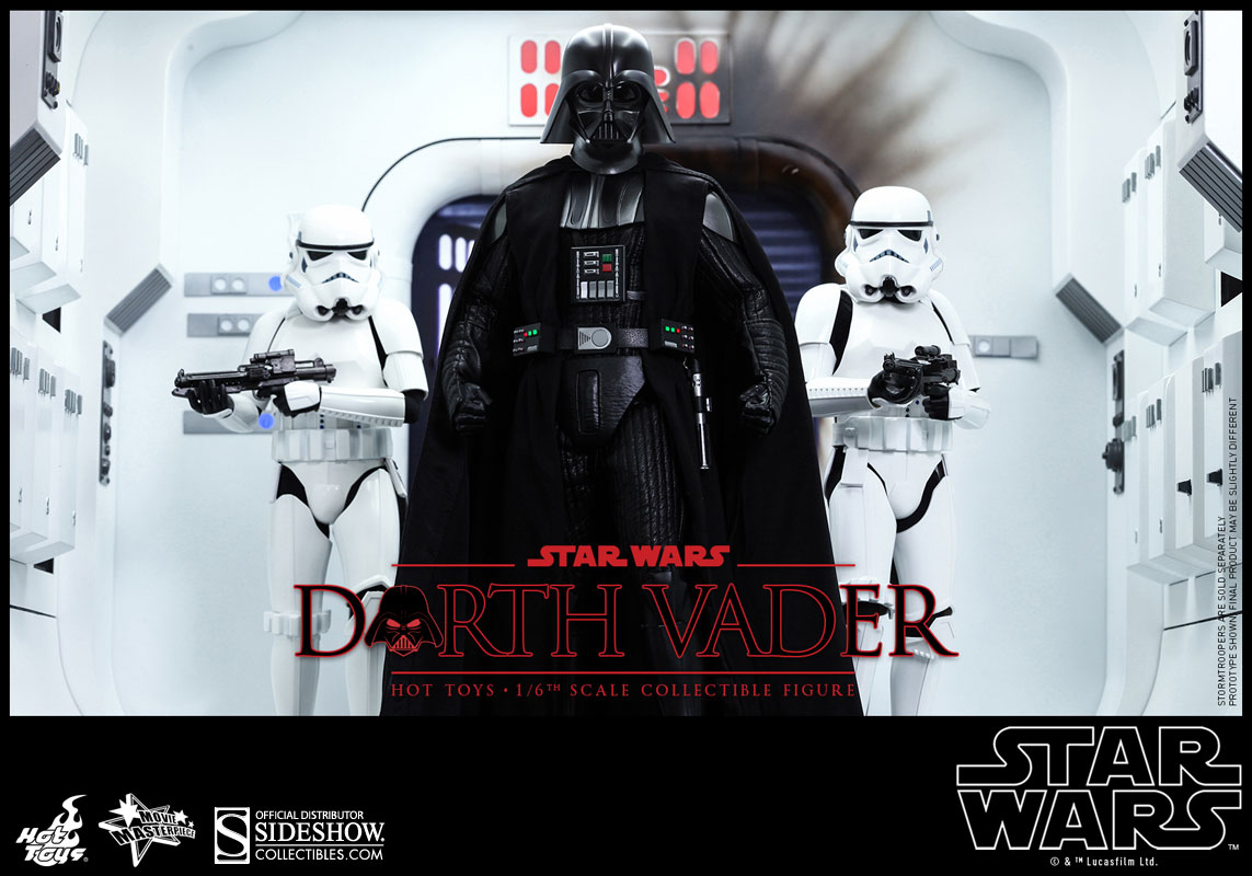 Star Wars: Episode IV: A New Hope - Darth Vader Escala 1/6 - Hot Toys