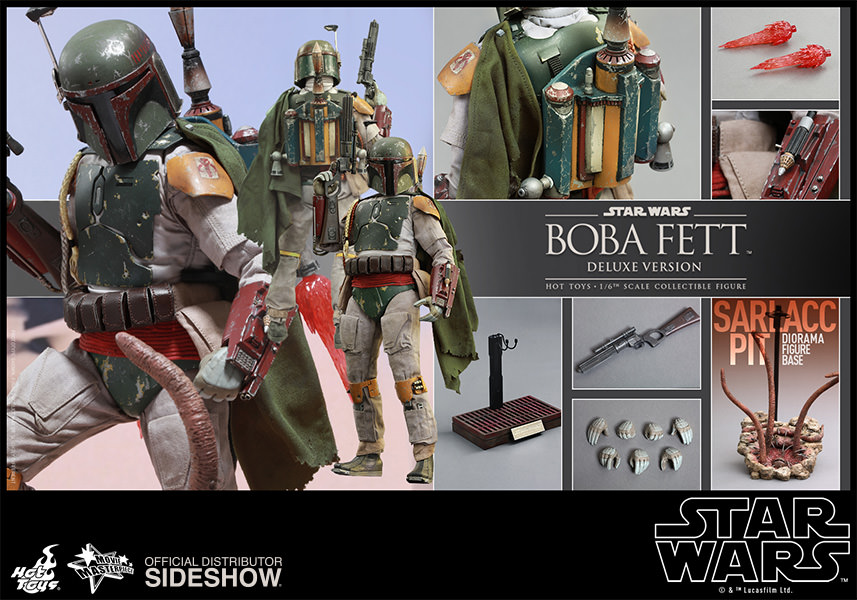 Star Wars Episode VI: Boba Fett Deluxe Escala 1/6 - Hot Toys