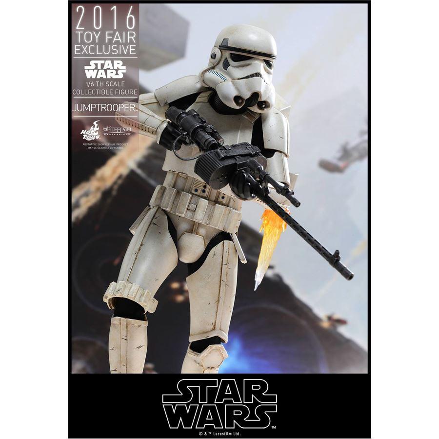 Star Wars Jumptrooper Exclusivo Escala 1/6 - Hot Toys