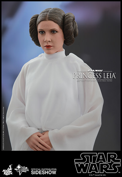 Star Wars Princess Leia Escala 1/6 - Hot Toys