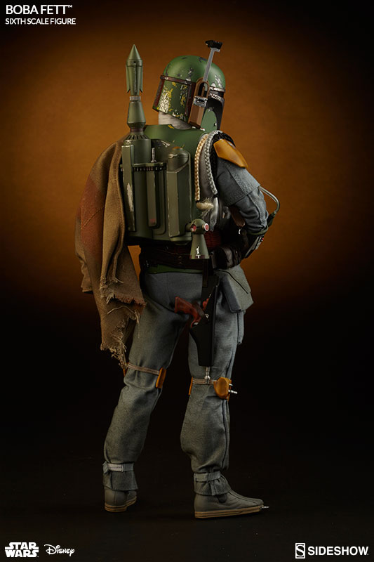 Star Wars The Empire Strikes Back: Boba Fett Escala 1/6 - Sideshow